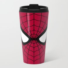Spider man superhero Metal Travel Mug