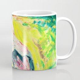 Alfred Henry Maurer - Figure in Landscape - Digital Remastered Edition Coffee Mug