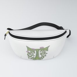 T is for Thistle Fanny Pack