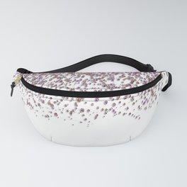 Sparkling rose quartz glitter confetti - Luxury design Fanny Pack