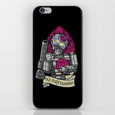 Pax Per Tyrannis iPhone & iPod Skin