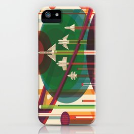 The Grand Tour : Vintage Space Poster iPhone Case