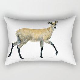 Marsh deer Rectangular Pillow