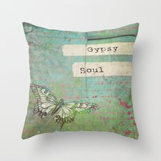 Gypsy Soul Throw Pillow