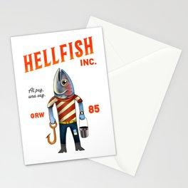 Hellfish Stationery Cards