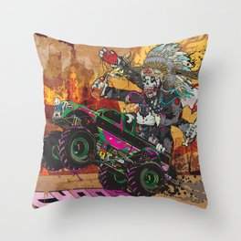 Wolves & Scandals Throw Pillow
