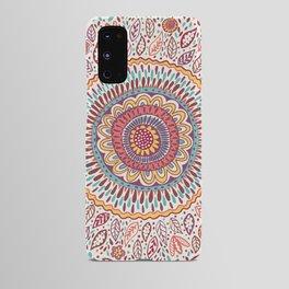 Sunflower Mandala Android Case