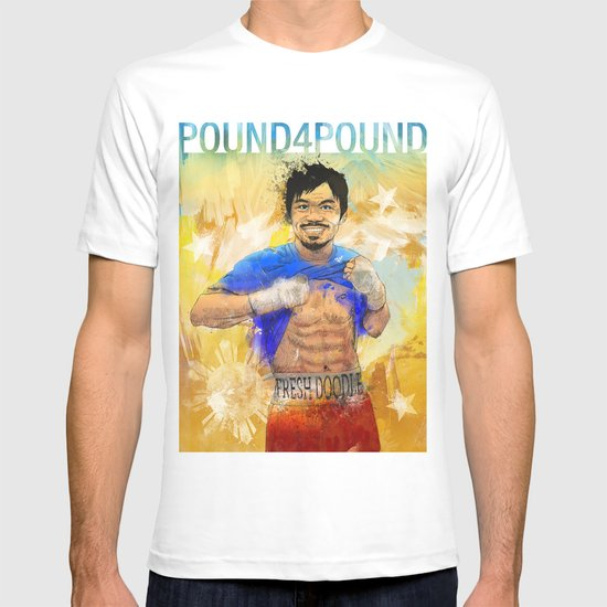 Manny Pacquiao - Pound 4 Pound T-shirt
