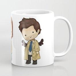 Chibi Dean Sam Castiel Supernatural Coffee Mug