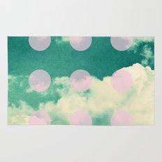 Clouds + Dots Rug