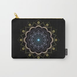 Contrast mandala Carry-All Pouch