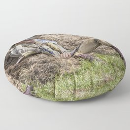 Time out. Floor Pillow
