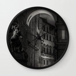 Dark. Wall Clock