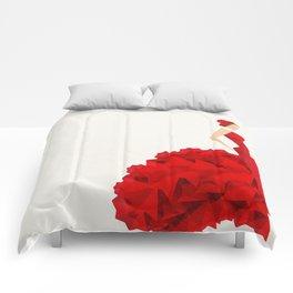 The Dancer (Flamenco) Comforters