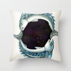 INKYFISH - Southern Hemisphere Throw Pillow