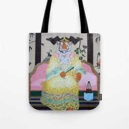 Tiger Queen Tote Bag