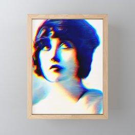Mabel Framed Mini Art Print
