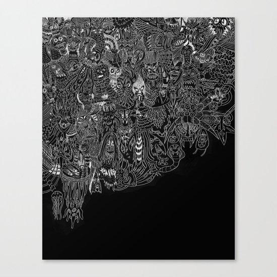 Peepers Canvas Print