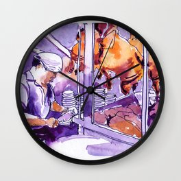 20160903-3 Chicken Rice Food Republic Shaw Wall Clock