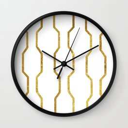 Gold Chain Wall Clock