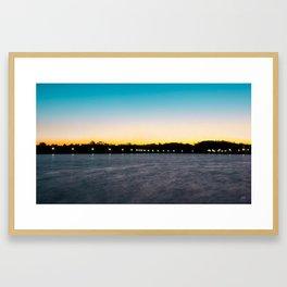 Blissful Sunrise Framed Art Print