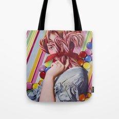Sacchrine | Collage Tote Bag