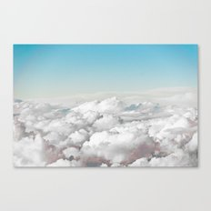 Cotton Sky Canvas Print