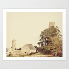 Clonmacnoise Art Print