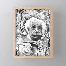 The Theory of Confusion Framed Mini Art Print