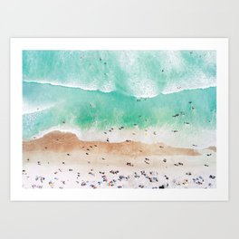 Beach Mood Art Print