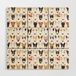 All The Bullies Wood Wall Art
