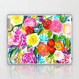 Bright Colorful Floral painting Laptop & iPad Skin