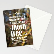 the thorn birds Stationery Cards