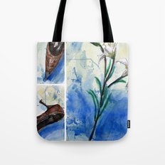 Flowers and shoe  Tote Bag