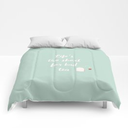 The Tea Lover II Comforters