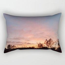 November Sunset in Mariposa Rectangular Pillow