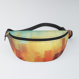 Urban sunset Fanny Pack