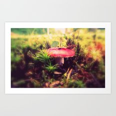 To Be Small, You Must Be Aware of Giants Art Print