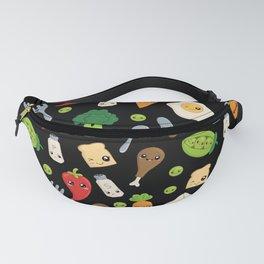 Cute Kawaii Food Pattern Fanny Pack