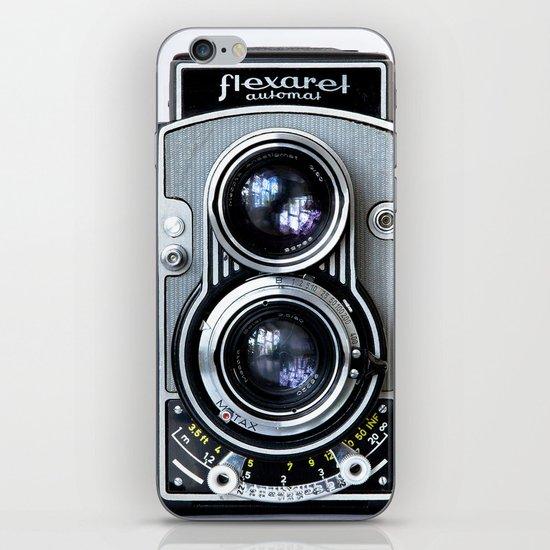 Flexaret Vinatge Camera iPhone & iPod Skin