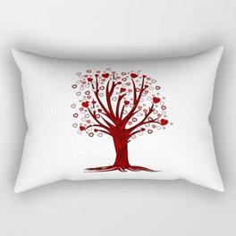 Heart Tree (2) Rectangular Pillow