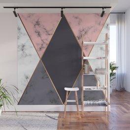 Marble Geometry 018 Wall Mural