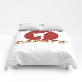 Karate Fighting Present Gift Self Defense Comforters