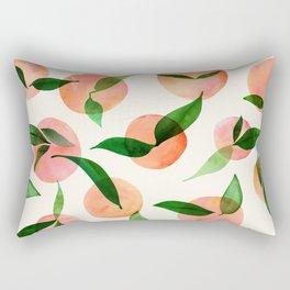 Summer Fruit Pattern Rectangular Pillow