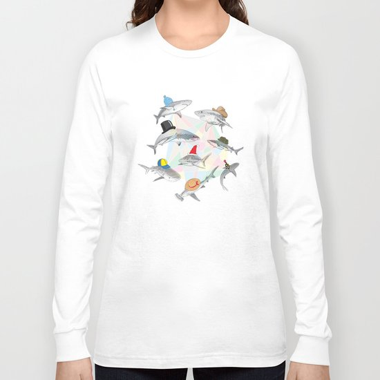 Hats On Long Sleeve T-shirt