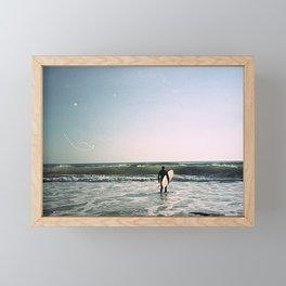 Surfer 2 Framed Mini Art Print