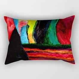 A Panic Attack Rectangular Pillow
