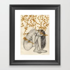 The Fragility Of Being Human Framed Art Print