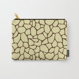 Stone floor beige or reptile skin Carry-All Pouch
