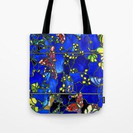 "John La Farge ""Butterflies and Foliage"" window. 1889 (3) Tote Bag"